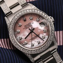 Rolex Lady-Datejust Steel 31mm Pink
