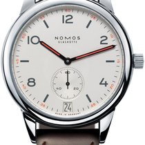 NOMOS Club Automat Datum Steel 41.5mm White United States of America, New York, Airmont