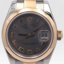 Rolex Datejust 26 Rhodium Romans Dial Stainless Steel & 18k...