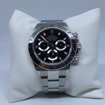 Rolex Cosmograph Daytona 116520 Black Dial Stainless Steel