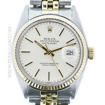 Rolex vintage 1978 stainless steel and 14k yellow gold Datejust