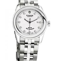 Tudor Glamour Date Steel 31mm Silver