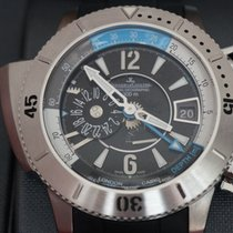 Jaeger-LeCoultre Titan Automatik Schwarz 46mm neu Master Compressor Diving Pro Geographic
