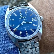 Omega Constellation C Chronometer men's vintage blue dial watch