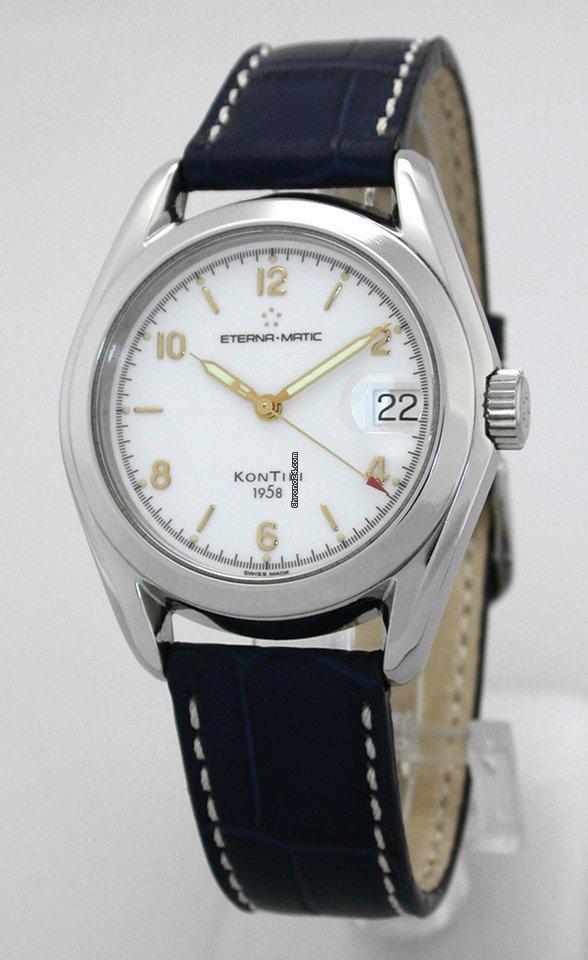 675e944541e Eterna Kontiki 1958 Automatic aus den 1990ern sold on Chrono24