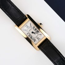 Cartier Tank Américaine tweedehands 19mm Geelgoud