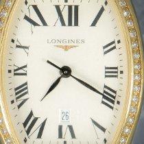 Longines Evidenza Or jaune 32mm Blanc Romains