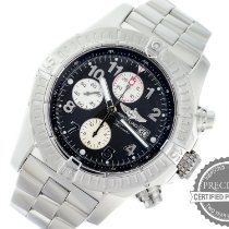 Breitling Super Avenger Steel 48mm Black Arabic numerals United States of America, Pennsylvania, Willow Grove