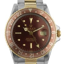 Rolex Chronometer 40mm Automatic pre-owned GMT-Master Red