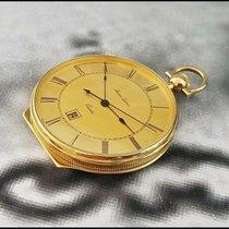 Maurice Lacroix Horloge tweedehands 1970 Goud/Staal 43mm Romeins Quartz Alleen het horloge