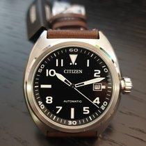 Citizen Steel Automatic NJ0100-11E new