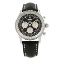 Breitling Navitimer Rattrapante Steel 45mm Black No numerals United States of America, New York, NYC