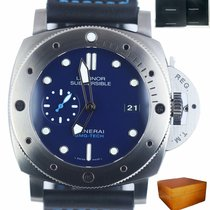 Panerai Luminor Submersible Titan 47mm Plav-modar