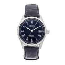 Seiko pre-owned Automatic 40.5mm Blue 10 ATM