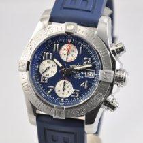 Breitling Avenger II Acier 43mm Bleu
