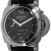 Panerai Luminor 1950 8 Days GMT Steel 44mm Black United States of America, Texas, Austin