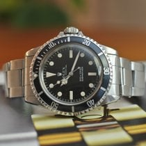 Rolex Submariner (No Date) 5513 meters first 1966 pre-owned