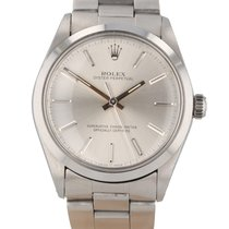Rolex Oyster Perpetual 34 pre-owned 34mm Silver Date