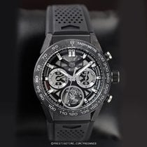 TAG Heuer Carrera Heuer-02T Carbon 45mm Transparent United States of America, New York, Airmont