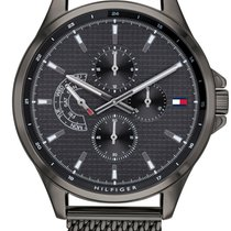 Tommy Hilfiger Steel 44mm Quartz 1791613 new