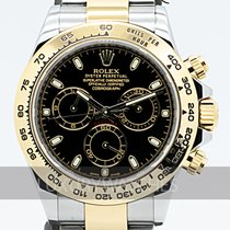 Rolex Daytona Gold/Steel 40mm Black
