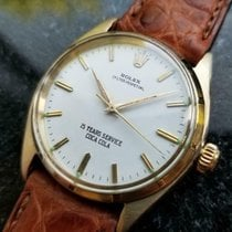 Rolex 1003 Yellow gold 1962 Oyster Perpetual 34 33mm pre-owned United States of America, California, Beverly Hills