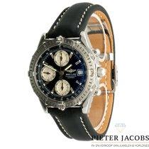 Breitling Chronomat Staal 39mm Zwart Geen cijfers Nederland, 's Hertogenbosch