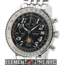 Breitling Montbrillant Steel 42mm Black Arabic numerals United States of America, New York, New York