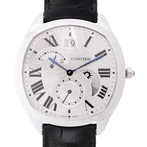 Cartier Drive De Cartier Stainless Steel White Automatic WSNM0005