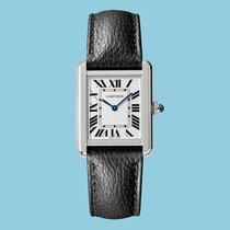 Cartier WSTA0030 Steel Tank Solo 31mm