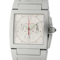 De Grisogono Uno Chronographe Stainless Steel 33mm Silver Dial