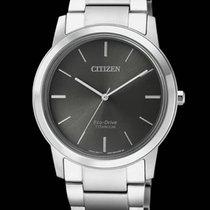 Citizen Titanium 33,5mm Quartz FE7020-85H CITIZEN  Super Titanio DONNA 7020  33,5mm Nero new