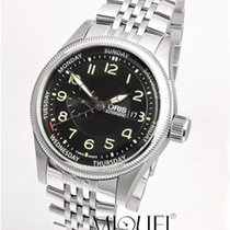 Oris Big Crown Small Second Pointer Day Acero 44mm Negro