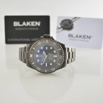 Rolex Sea-Dweller Deepsea D-Blue (black, DLC) by Blaken