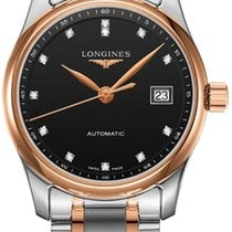 Longines Master Collection Gold/Steel 29mm Black