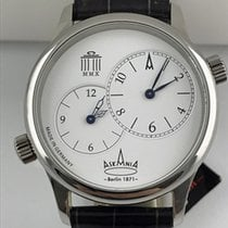 Askania 42mm Manual winding new Quadriga White