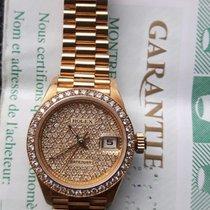 Rolex Lady-Datejust Gelbgold 26mm Champagnerfarben Keine Ziffern Österreich, Meiningen