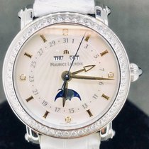 Maurice Lacroix pre-owned Automatic 35mm Mother of pearl Sapphire Glass