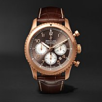 Breitling Rose gold Automatic Arabic numerals 43mm new Navitimer 8