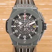 Hublot Big Bang Ferrari pre-owned 45mm Ceramic