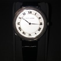 Ralph Lauren Platinum 38mm Manual winding RLR0122700 new
