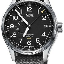 Oris Big Crown ProPilot GMT Steel 45mm Black United States of America, New Jersey, Cherry Hill
