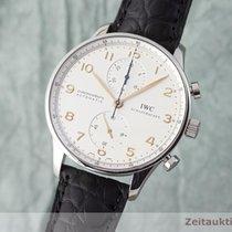 IWC Portugieser Chronograph Stahl 41mm Silber Deutschland, Chemnitz