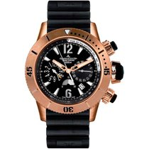 Jaeger-LeCoultre Master Compressor Diving Chronograph Rose gold Black United States of America, Florida, North Miami Beach