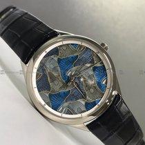 Vacheron Constantin White gold Automatic Grey pre-owned Métiers d'Art