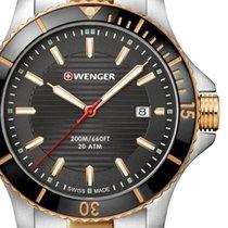 Wenger Ατσάλι 43mm Χαλαζίας 01.0641.127 καινούριο