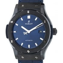 Hublot Silver Automatic 42mm new Classic Fusion Blue