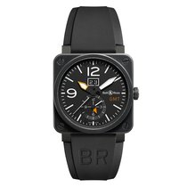 Bell & Ross BR 03-51 GMT new Automatic Watch with original box and original papers BR0351GMTCA