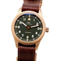 IWC Pilot's Watch Automatic 36 Bronze 36mm Green Arabic numerals United States of America, New York, NYC