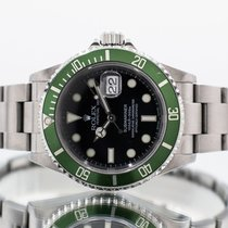 Rolex Submariner Date 16610 LV 2004 pre-owned